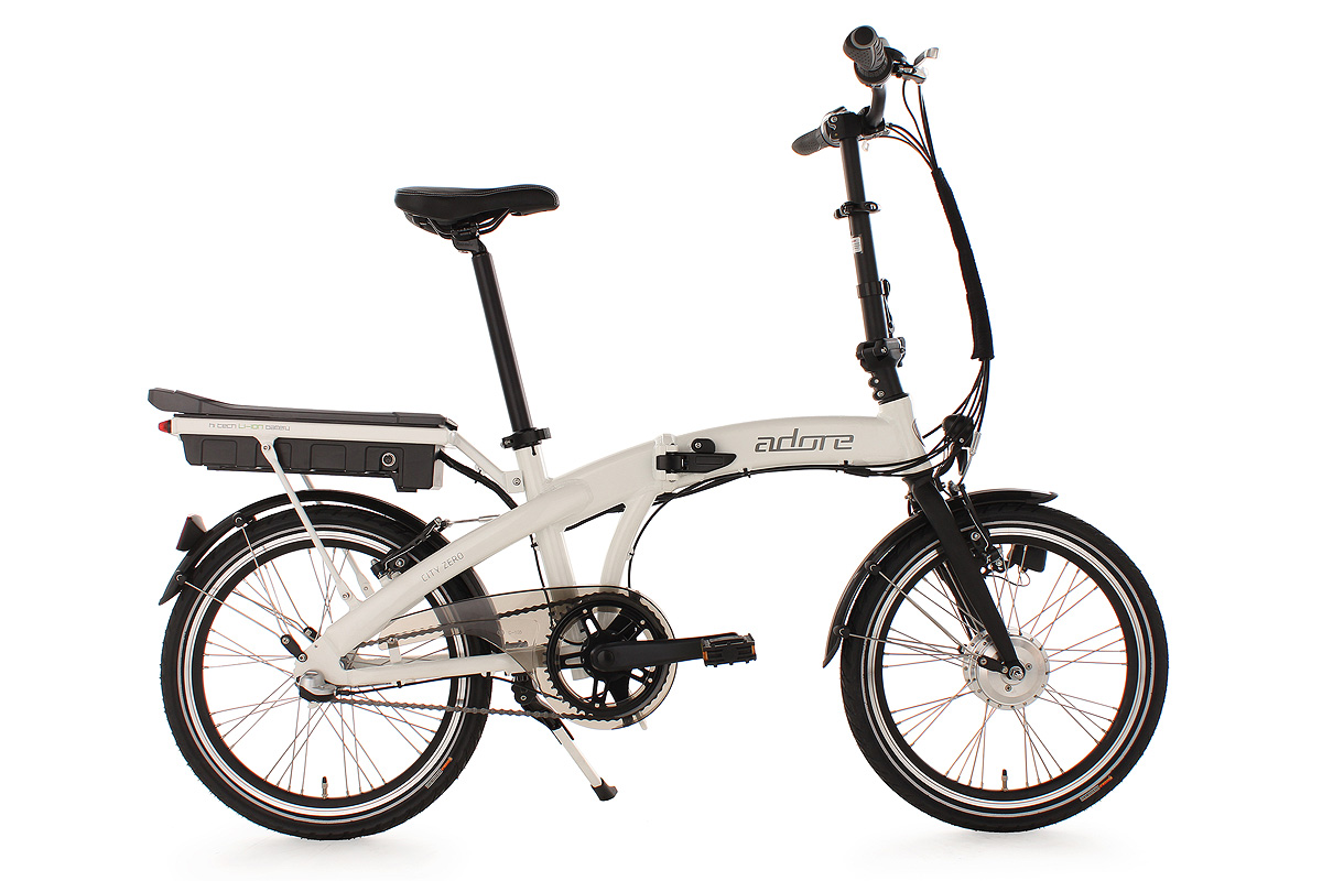 pedelec 20 39 39 e bike faltrad klapprad 3 g nge adore zero weiss rh 35 cm 120e ebay. Black Bedroom Furniture Sets. Home Design Ideas