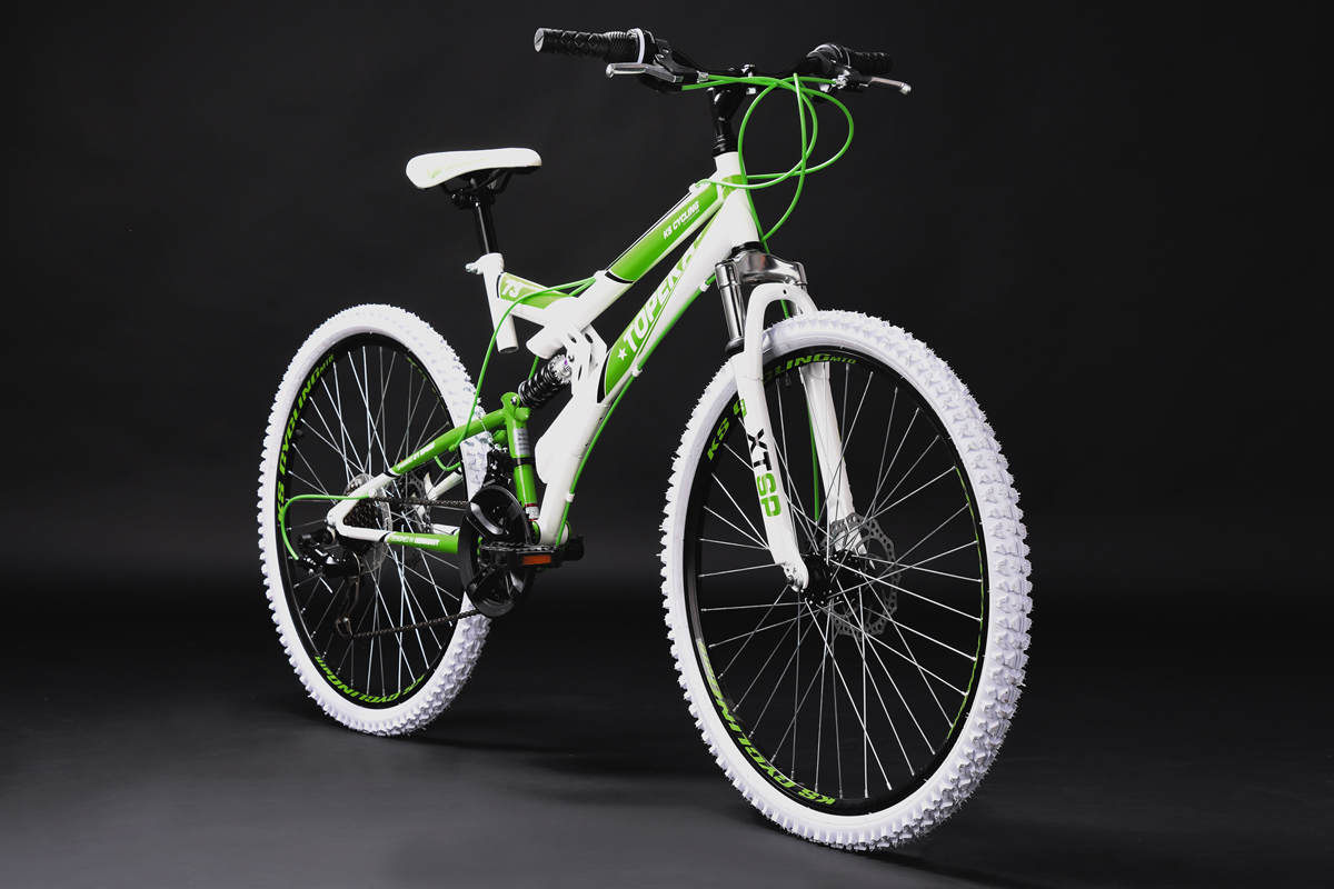 mountainbike fully 26 topeka weiss gr n rh 44 cm 21 gang. Black Bedroom Furniture Sets. Home Design Ideas