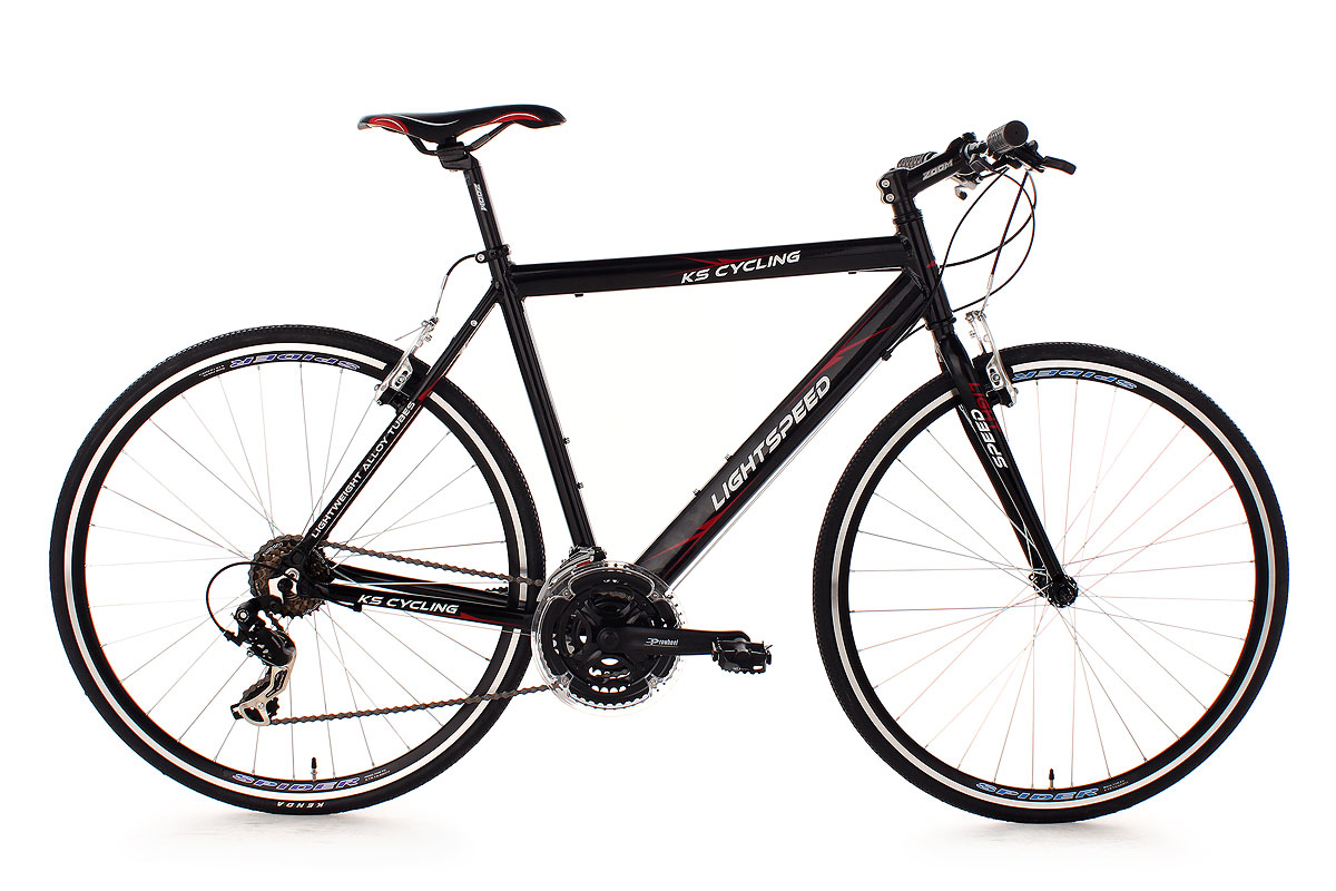 Fitness Bike 28 Lightspeed 60 Cm Black Ks Cycling 203b Ebay