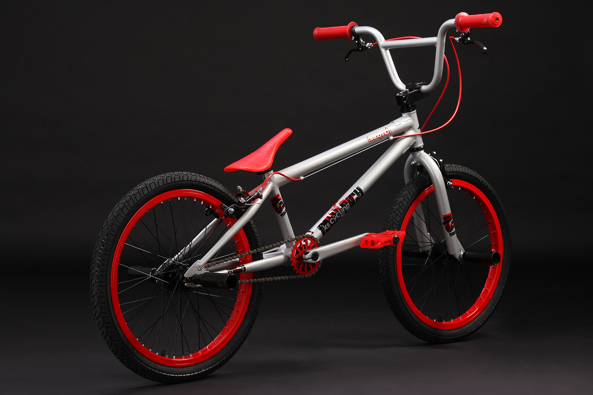 bmx bike freestyle 20 39 39 fahrrad jungen twentyinch silber rot 4 pegs 601b ebay. Black Bedroom Furniture Sets. Home Design Ideas