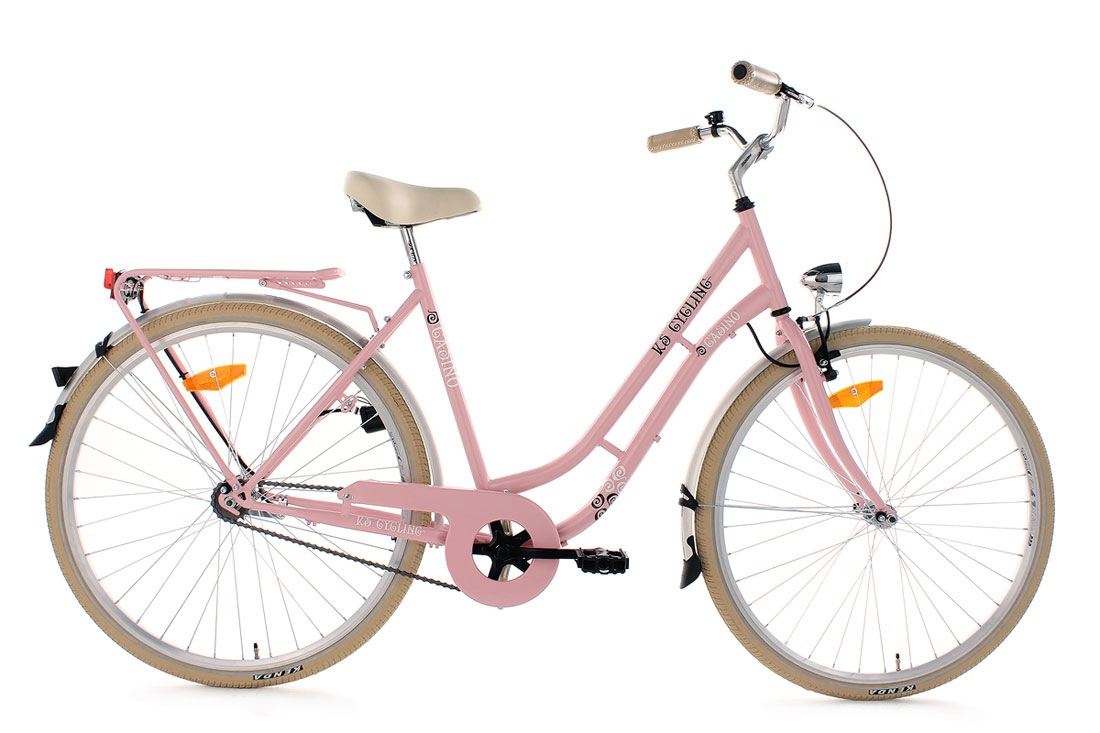 damenfahrrad 28 zoll casino pink rad singlespeed rh 54 cm ks cycling 953b ebay. Black Bedroom Furniture Sets. Home Design Ideas