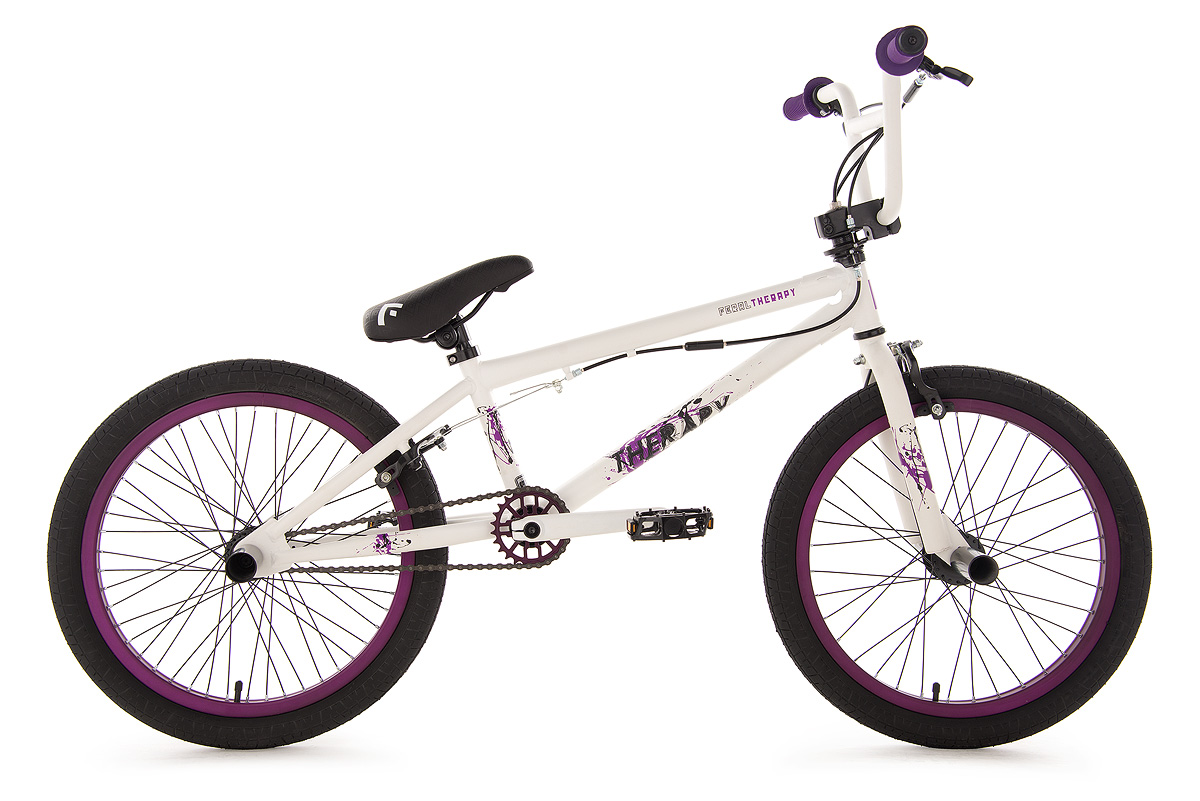 bmx freestyle 360 rotor bike 20 trp weiss lila 4 pegs. Black Bedroom Furniture Sets. Home Design Ideas