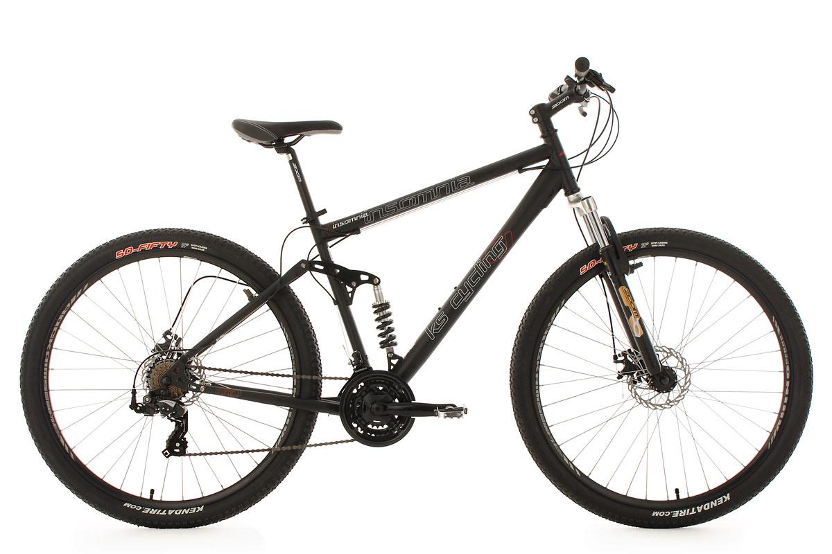 mountainbike twentyniner fully 29 insomnia schwarz 21 g nge ks cycling 362m ebay. Black Bedroom Furniture Sets. Home Design Ideas