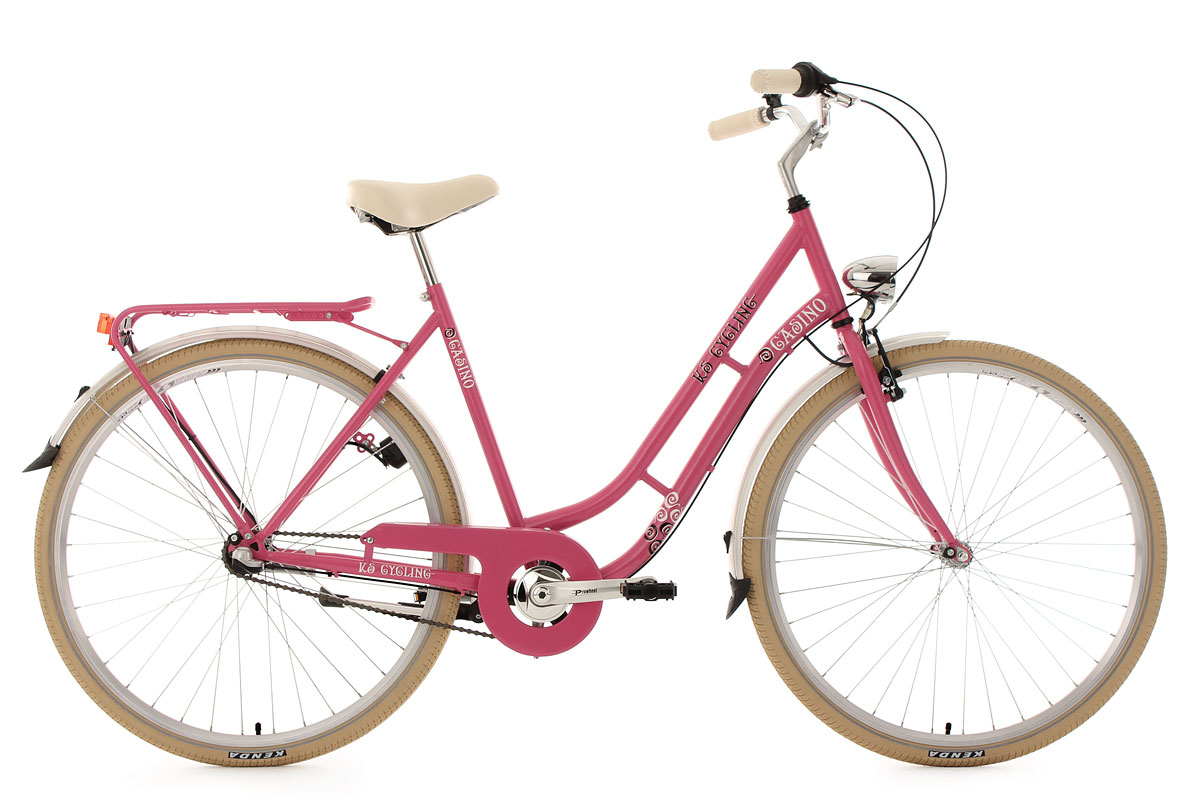citybike 28 zoll casino 3 gang damenfahrrad pink rh 54 cm ks cycling 708c ebay. Black Bedroom Furniture Sets. Home Design Ideas