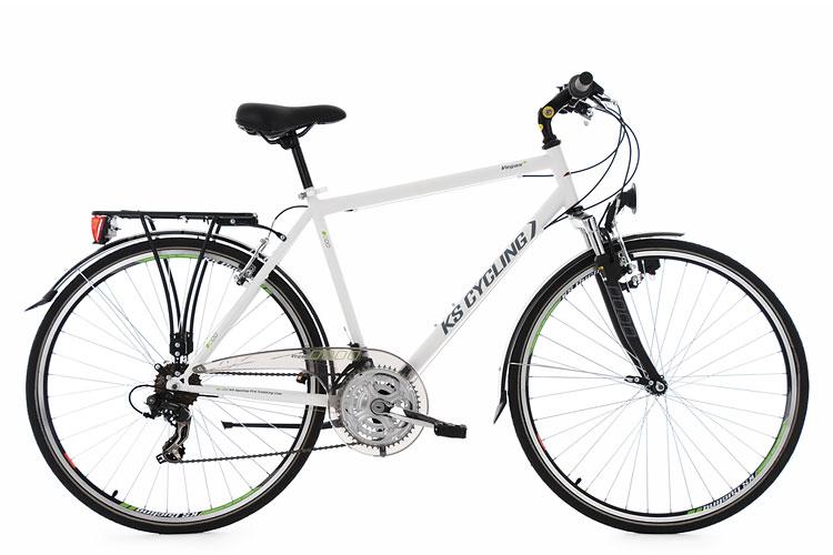trekkingrad herren 28 vegas flachlenker weiss 21 g nge ks cycling m164t ebay. Black Bedroom Furniture Sets. Home Design Ideas