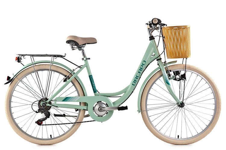 damen cityrad 26 mit korb citybike 6 g nge cantaloupe mint ks cycling 316c ebay. Black Bedroom Furniture Sets. Home Design Ideas