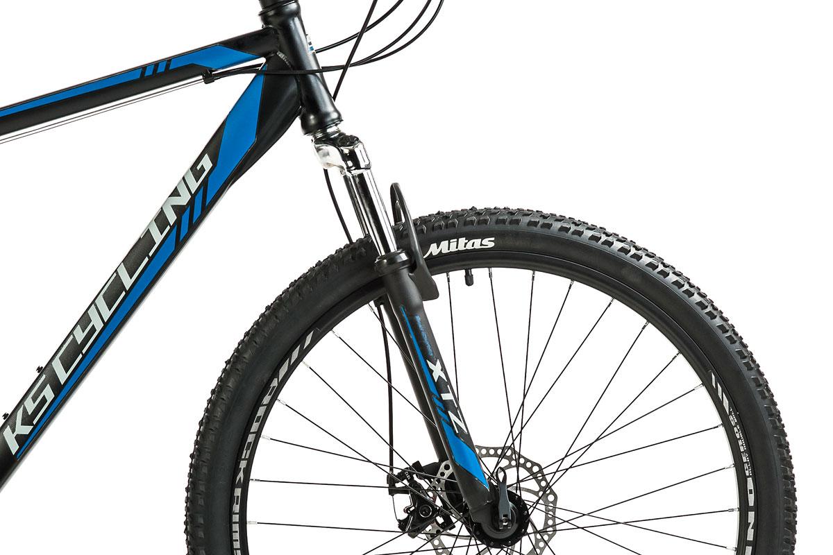"""Mountainbike Hardtail 27,5/"""" Sharp Schwarz-Blau RH 51 cm 21 Gänge KS Cycling 392M"""