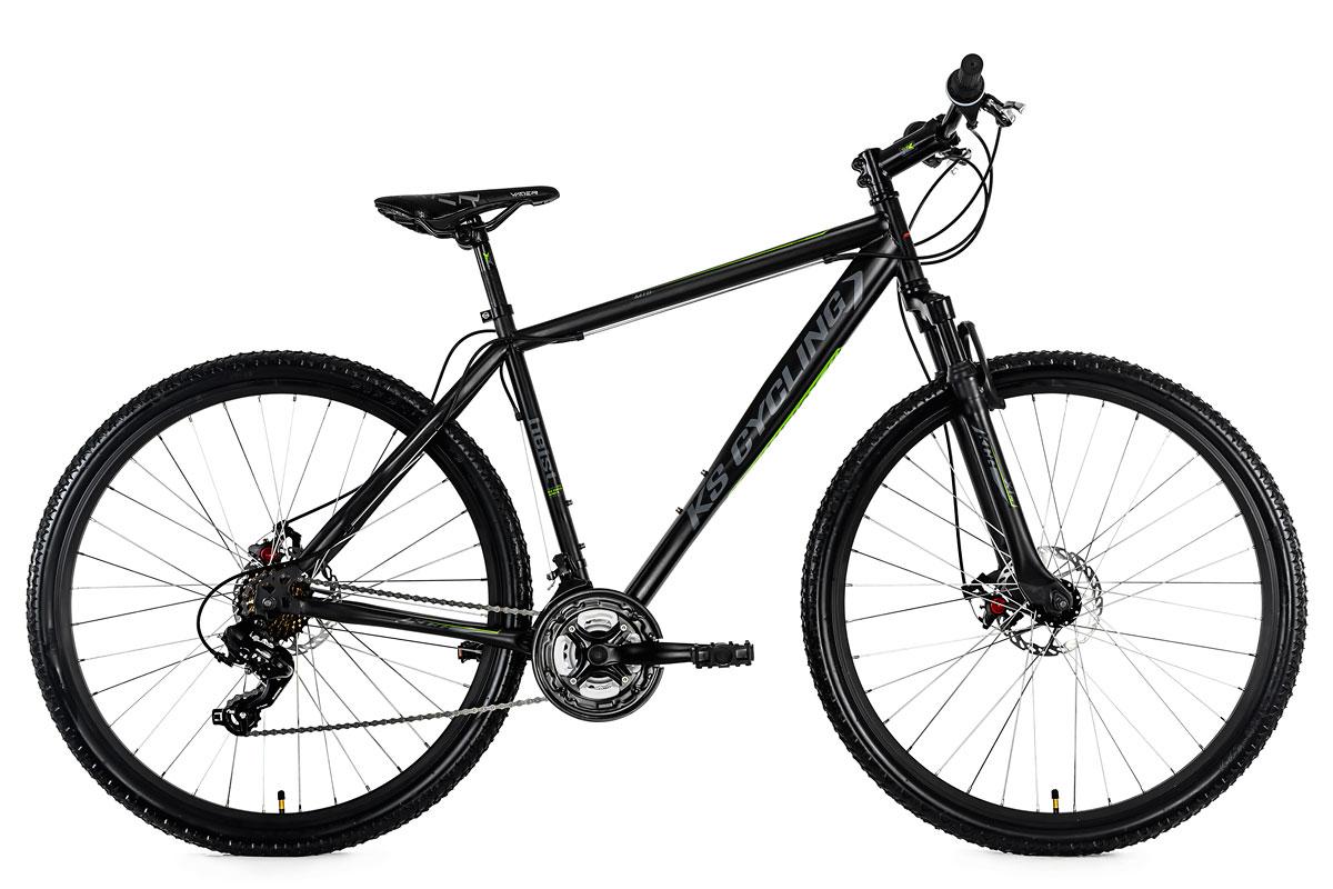 29 mountain bike hardtail heist black 21 speed disc. Black Bedroom Furniture Sets. Home Design Ideas