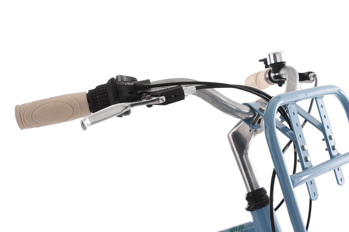 "Beachcruiser 26/"" Kahuna Bleu 6 Vitesses TC 40 cm Cruiser KS Cycling 768B"