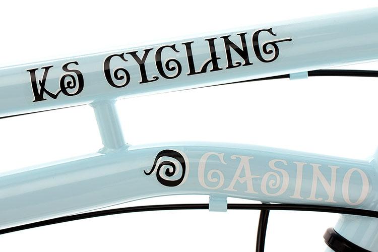ks cycling cityrad 3-gänge damenfahrrad casino 28 zoll